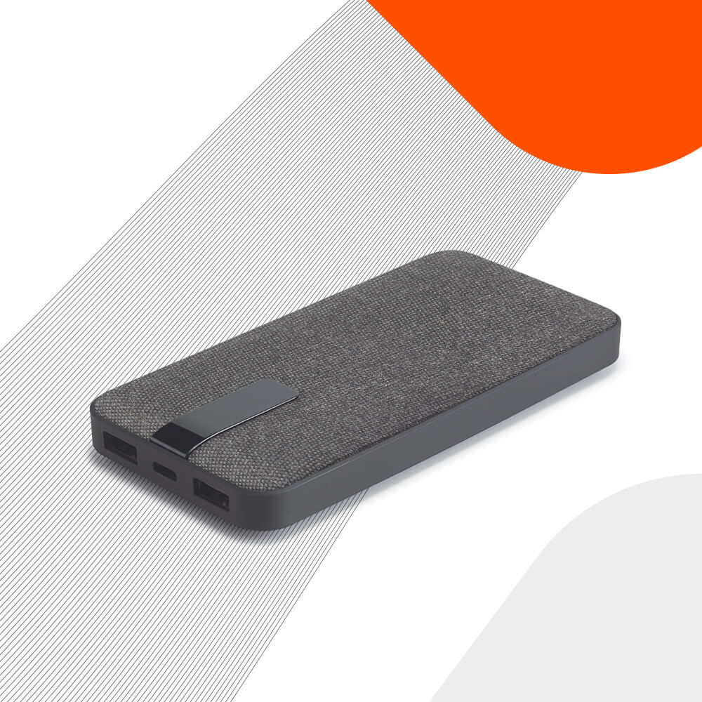 Ekston TRENCHER portable battery - a powerbank with a modern, elegant and intimate design