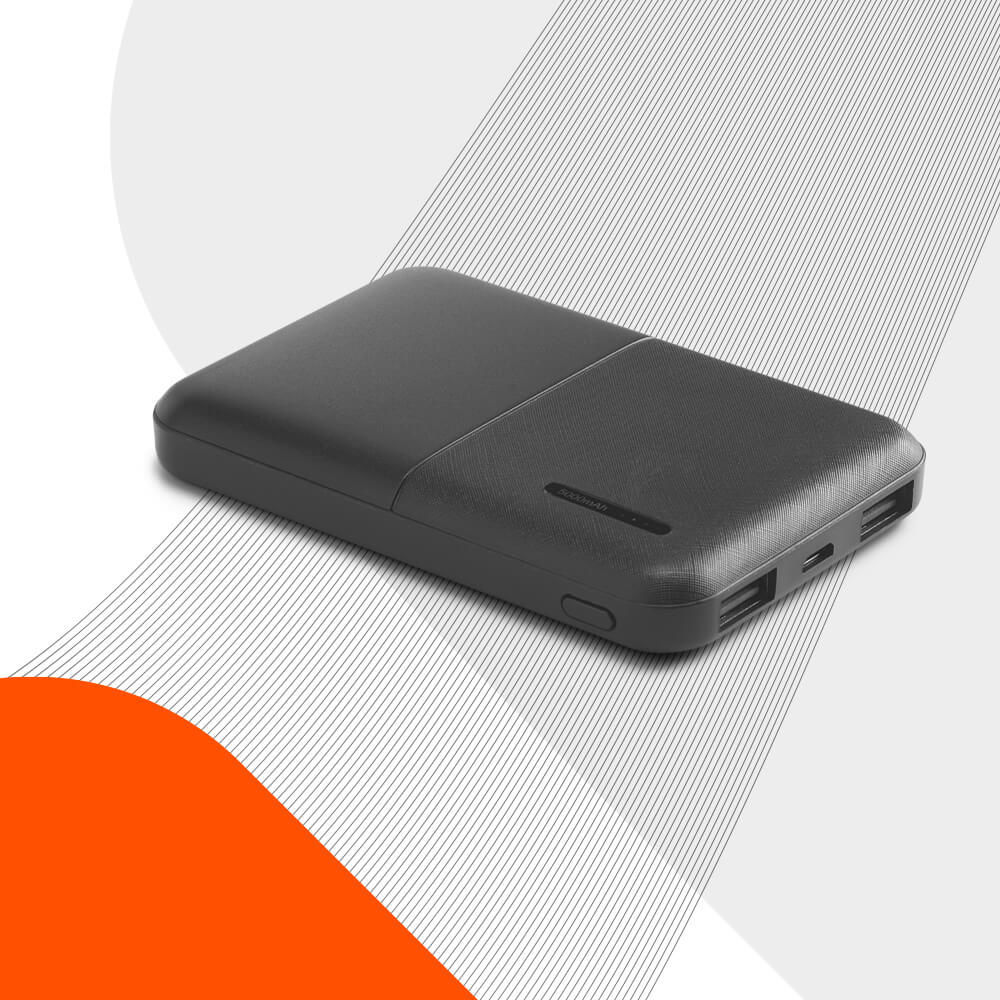 Ekston CROWD portable battery - a powerbank featuring an elegant and innovative design